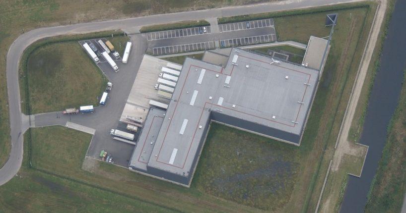 Továrna v Mošnově