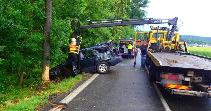 Dopravní nehoda Raduň