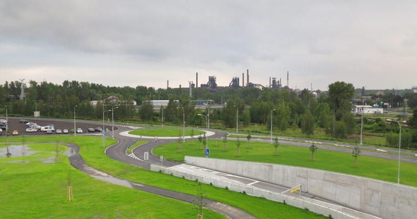 Stavba nového náměstí v Ostravě-Jih započal